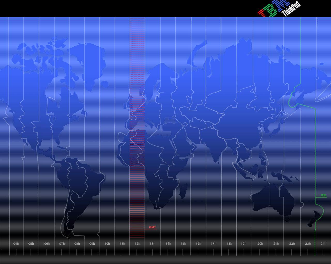 ThinkPad 1280x1024 Map
