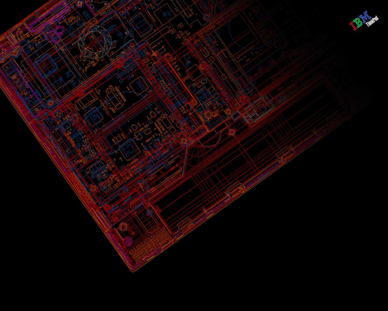 ThinkPad Wallpaper mecanique